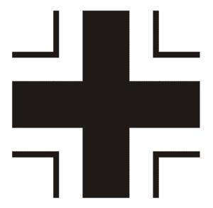 Operation Bellicose - Image: Regulation WW II Underwing Balkenkreuz