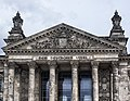 Reichstag building from west closeup 2016.jpg
