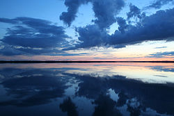 Die rėkyva-meer ( rėkyvos ežeras )