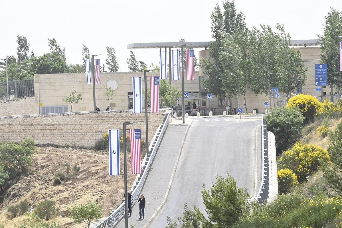 Embassy of the United States, Jerusalem - Wikipedia