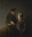 Rembrandt (workshop) - A young Scholar and his Tutor (Getty Center).jpg