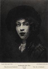 Portrait of Titus (overpaint removed between 1908-1935)