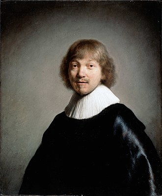 Dulwich Picture Gallery - Rembrandt, portrait of Jacob de Gheyn III.
