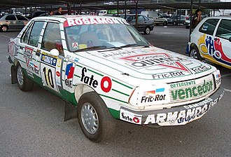 Renault 18 - This Renault 18 GTX finished seventh overall in the 1992 Rally YPF Argentina