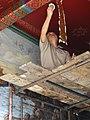 Restorer at Work - Architectural Detail - Wat Phra Kaew - Bangkok - Thailand (11731658586).jpg