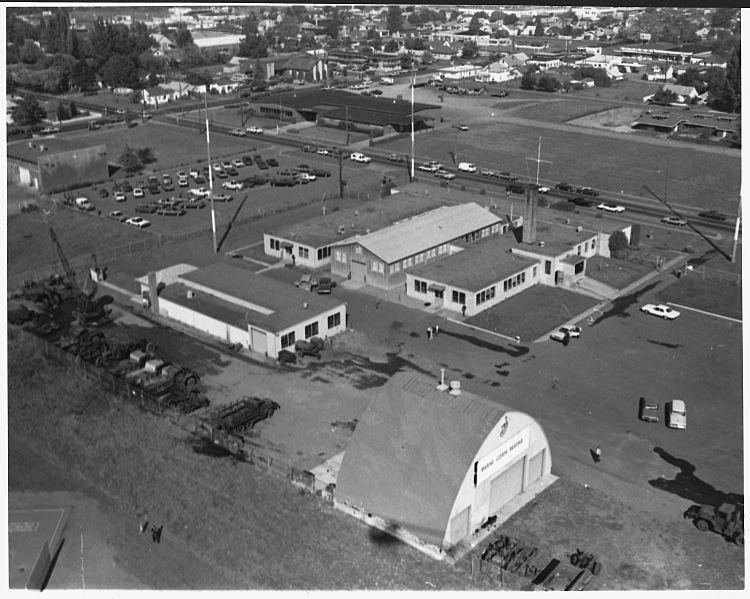 File:Result of arson at Naval Training Center. 1968. Eugene, Oregon. - NARA - 292150.jpg