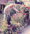 Retired British Army member tending his garden.jpg