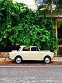 Retro cream car in Bengaluru (Unsplash).jpg