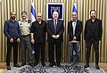 Reuven Rivlin with the personal of the Israeli television serie «Fauda», February 2018 (4847).jpg