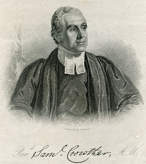 Samuel Ajayi Crowther - Crowther, whose name Samuel Ajayi Crowther adopted, by Thomson 1828.