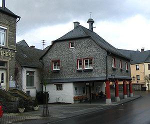 Rhaunen - Old Town Hall in the village centre