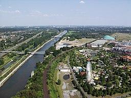 Rhein-Herne-Kanal bei Oberhausen