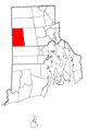 Rhode Island Municipalities Foster Highlighted.png