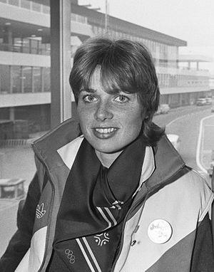 Ria Visser - Ria Visser in 1984