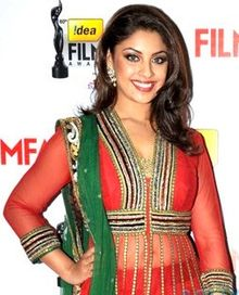 Richa Gangopadhyay smiling at camera