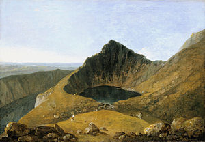 Richard Wilson (painter) - Llyn-y-Cau, Cader Idris