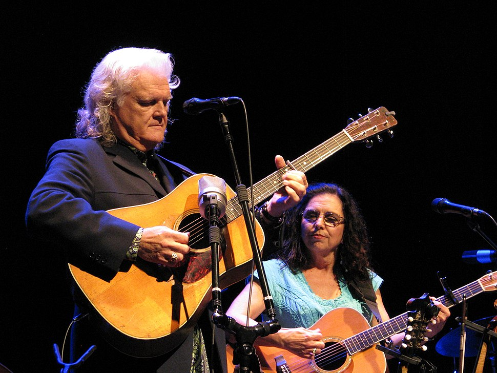 Ricky Skaggs and Sharon White 19Aug2015.jpg