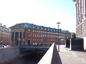 Swedish Parliament - Parliament member's offic...