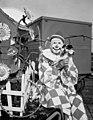 Ringling Circus clown Charlie Bell with his dog- Sarasota, Florida (8414198772).jpg