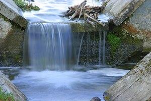 The Hungarian Branch Rinya's little waterfall
