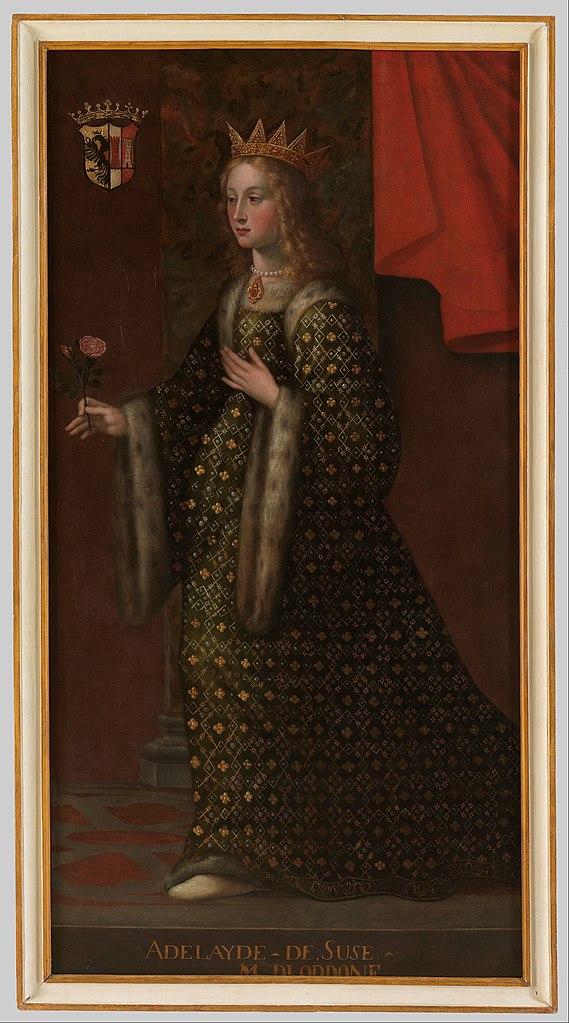 File:Ritratto di Adelaide di Susa moglie di Oddone ...