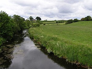 River Bush - Image: River Bush geograph.org.uk 848083