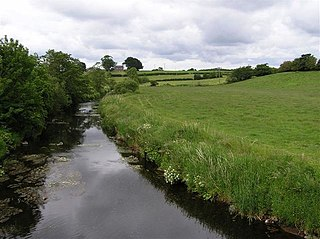 River Bush River in County Antrim, Northern Ireland