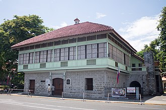 Bahay na bato - The Rizal Shrine in Calamba is an example of Bahay na bato.