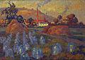 Robert Antoine Pinchon, 1921, Le Jardin maraicher, oil on canvas, 74 x 100 cm, Musée des Beaux-Arts de Rouen.jpg