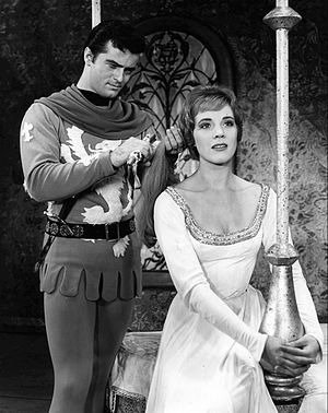 Robert Goulet - Robert Goulet and Julie Andrews in Camelot