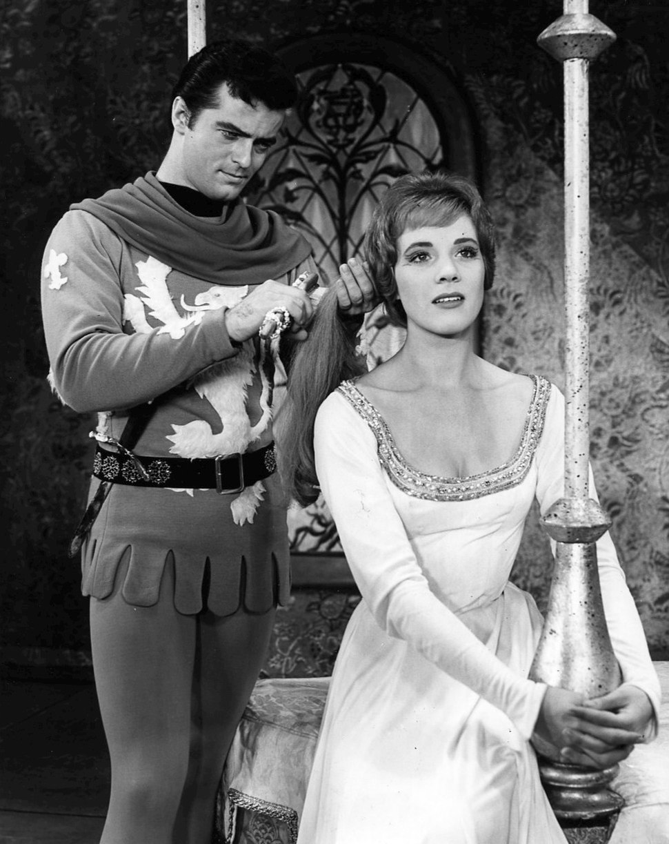 Robert Goulet Julie Andrews Camelot