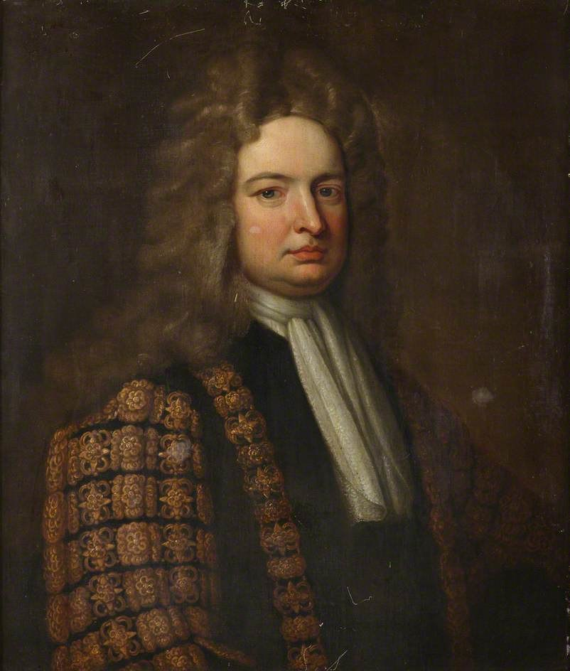 Robert Harley Chancellor of the Exchequer by Kneller