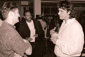 Director Robert Rodriguez at the 1993 Atlanta ...