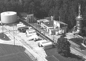 Rocket Engine Test Facility - 1982 photograph