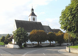 The church of Rodersdorf