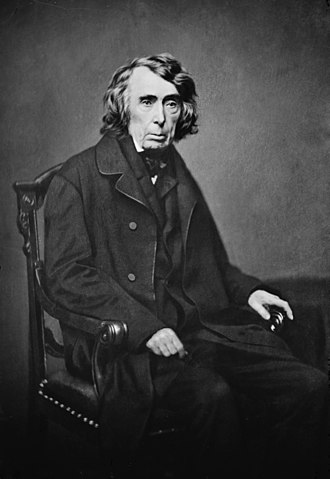 Dred Scott v. Sandford - Chief Justice Roger Taney, the author of the majority opinion in the Supreme Court's Dred Scott decision. This photo of Taney was taken in the late 1850s by the American photographer Mathew Brady, one of the early pioneers of film photography.
