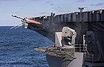 Rolling-airframe Missile (RAM) fired from Aircraft carrier USS Dwight D. Eisenhower (CVN 69).jpg