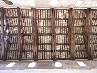 Santa Maria in Cosmedin - The ceiling of the basilica