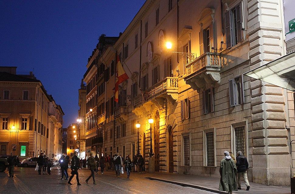 Rom, auf dem Piazza Mignanelli