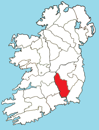 Roman Catholic Diocese of Ossory - Image: Roman Catholic Diocese of Ossory map