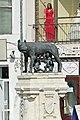 Romania-1194 - She-wolf Statue in Romania!!!!!! (7576058272).jpg