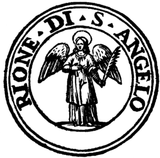 Sant'Angelo, Rome - Seal of the rione