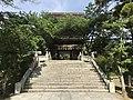 Romon gate and Taikobashi Bridge of Kashii Shrine.jpg