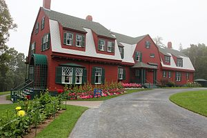 Roosevelt Campobello International Park - The Roosevelt cottage at Campobello (2011)