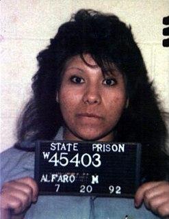 Rosie Alfaro American murderer currently on Californias death row
