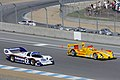 Rothmans Porsche 956 and Penske Racing RS Spyder Evo at the Porsche Rennsport Reunion IV.jpg