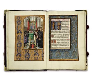 Rothschild Prayerbook Flemish illuminated breviary, ca. 1510-20