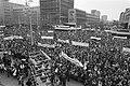 Rotterdam, bijeenkomst op de Coolsingel overzicht, Bestanddeelnr 930-7048.jpg