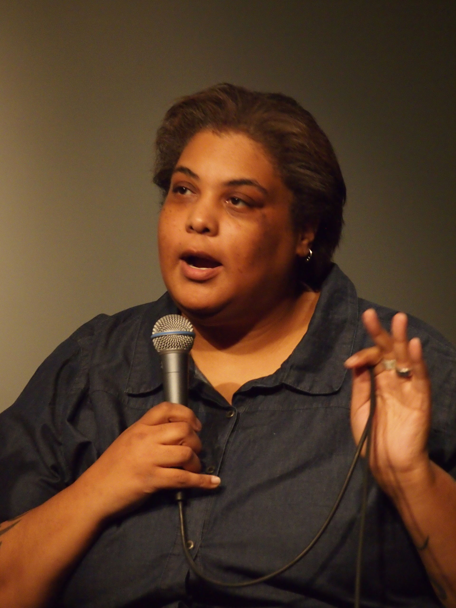 Roxane Gay born October 15