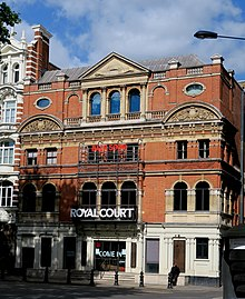 Royal Court theater, Sloane Square Chelsea London UK 2020.jpg